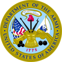 Department of the Army Decal / Sticker 12