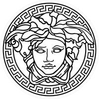 Versace Decal / Sticker 06