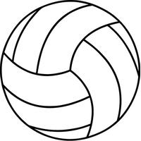Volleyball Decal / Sticker 01
