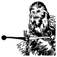 Chewbacca Decal / Sticker 03