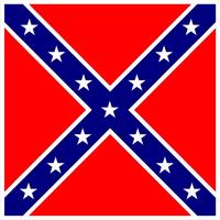 Rebel / Confederate Flag Decal / Sticker 59