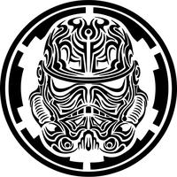 Star Wars Stormtrooper Tribal Decal / Sticker 12