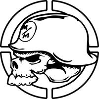 Metal Mulisha Skull Decal / Sticker 11