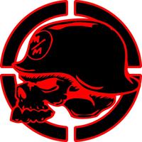 Metal Mulisha Skull Decal / Sticker 12