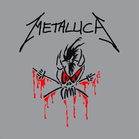 Metallica Scary Guy Decal / Sticker 17