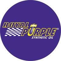 Circular Royal Purple Decal / Sticker 08