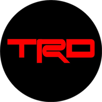 Toyota TRD Circular Decal / Sticker 33