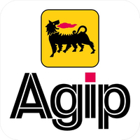 Agip Decal / Sticker 09