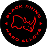 Black Rhino Hard Alloys Decal / Sticker 11