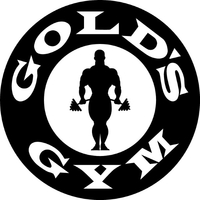 Gold's Gym Decal / Sticker 06