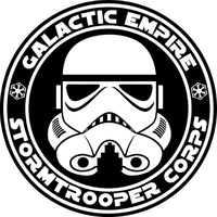 Stormtrooper Galactic Empire Seal Decal / Sticker 21