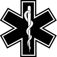 Medical logo Decal / Sticker 03