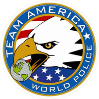 Team America World Police Decal / Sticker 01