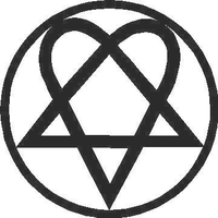 Heartagram Decal / Sticker 02