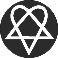 Heartagram Decal / Sticker 03