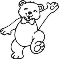 Teddy Bear  Decal / Sticker