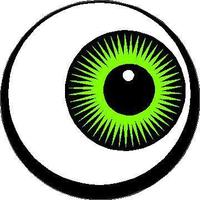 Eyeball Decal / Sticker 02