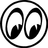 Mooneyes Decal / Sticker 04