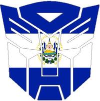 El Salvador Flag Autobot 06 Decal / Sticker