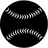 Baseball Decal / Sticker 10