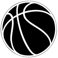 Basketball Decal / Sticker