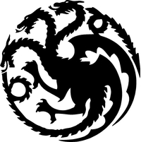 Game of Thrones Targaryen Sigil Decal / Sticker 02