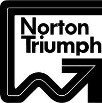 Norton Triumph Decal / Sticker 12