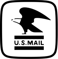 U.S. Mail Decal / Sticker 04
