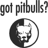 Got Pitbulls? Decal / Sticker