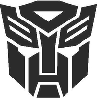 Transformers Autobot Decal / Sticker 06