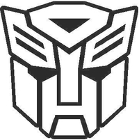 Transformers Autobot 07 Decal / Sticker