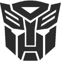 Transformers Autobot 11 Decal / Sticker