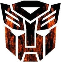 True Fire Autobot Decal / Sticker 13