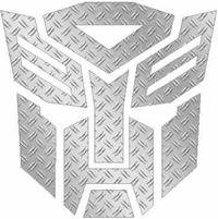 HD Diamond Plate Autobot Decal / Sticker 06