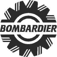 Bombardier Decal / Sticker 02