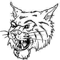 Wildcats Mascot Decal / Sticker 4