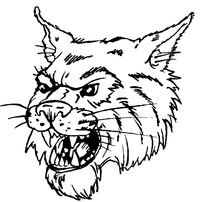 Wildcats Mascot Decal / Sticker 4