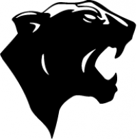CUSTOM PANTEHRS MASCOT DECALS AND PANTHERS MASCOT STICKERS