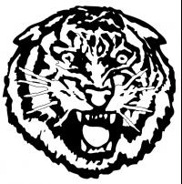 CUSTOM TIGERS MASCOT DECALS AND TIGERS MASCOT STICKERS