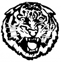 CUSTOM TIGERS MASCOT DECALS AND TIGERS MASCOT STICKERS