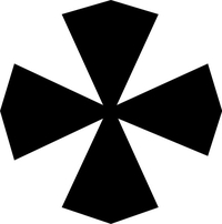 Christian Cross Decal / Sticker 28