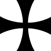 Assassin's Creed Cross Decal / Sticker 02