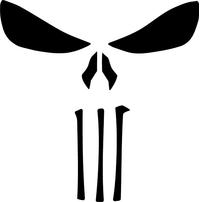 Punisher Decal / Sticker 144