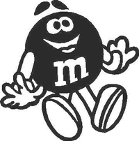 M&M Decal / Sticker 03
