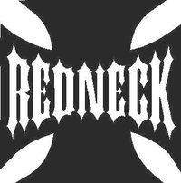 Redneck Maltese Cross Decal / Sticker 02