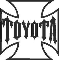 Toyota Cross Decal / Sticker 01