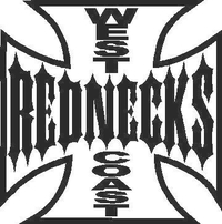 West Coast Rednecks Decal / Sticker 01