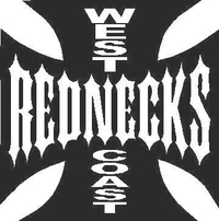 West Coast Rednecks Decal / Sticker 02
