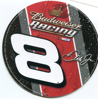 8 Dale Earnhardt Jr. Decal / Sticker