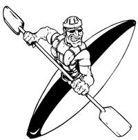 Kayaking Decal / Sticker